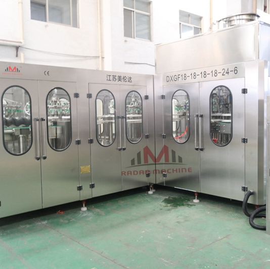 Another Two Steel Cylinder Beer 6 in 1 Filling Machines from Radar Machine Will Be Shipped